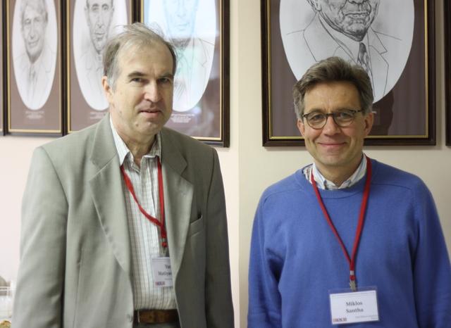 Yuri Matiyasevich, Miklos Santha